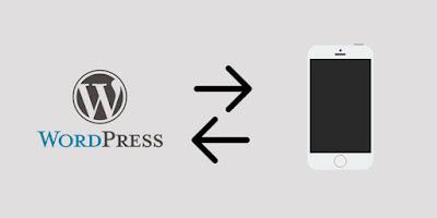 Menulis blog wordpress melalui smartphone