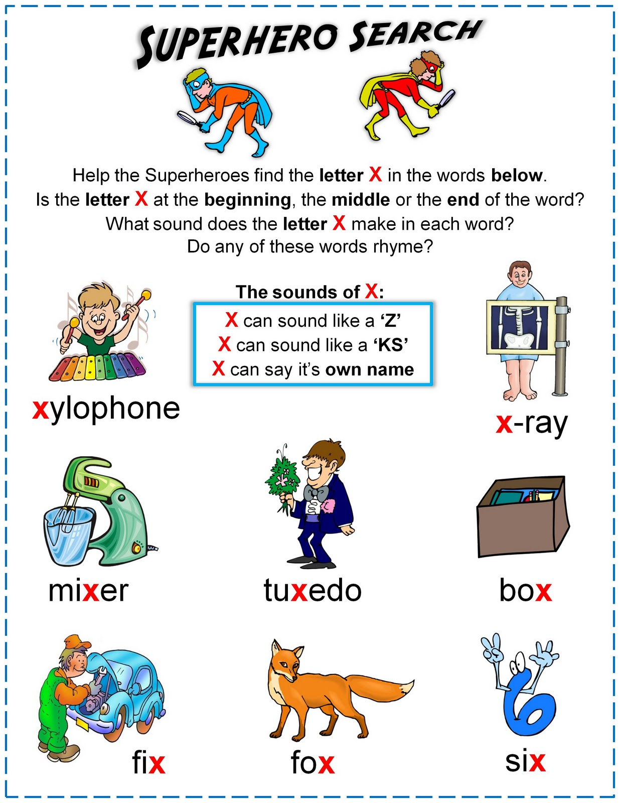 three letter words starting with x nonna and me december 2011 25277 | worksheet sounds of X