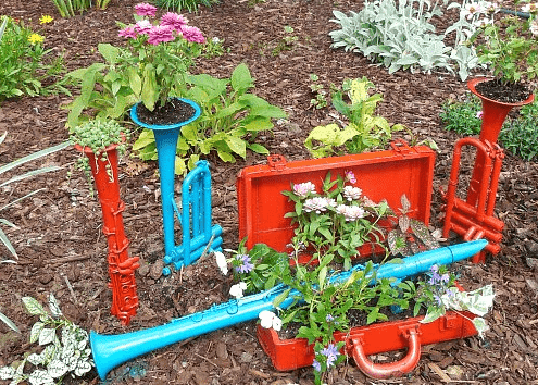 Creative Gardening Concepts – Recycled Gardening decoration Concepts