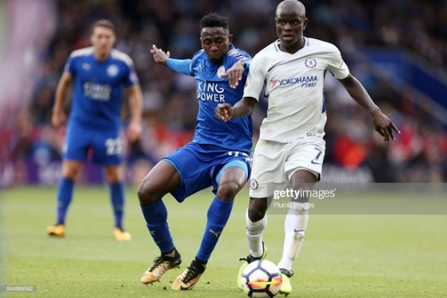 Sports.....Ndidi is becoming better and better