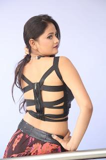 Shriya Vyas in a Tight Backless Sleeveless Crop top and Skirt 96.JPG