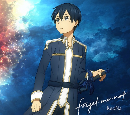 ReoNa - forget-me-not 2nd single info detail lyrics english Sword Art Online:Alicization ending 2nd