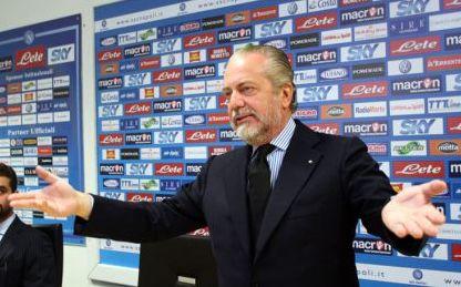 De Laurentiis a ruota libera su Napoli, Tavecchio, Calcio da Bar, Infront, Mertens su Radio 24