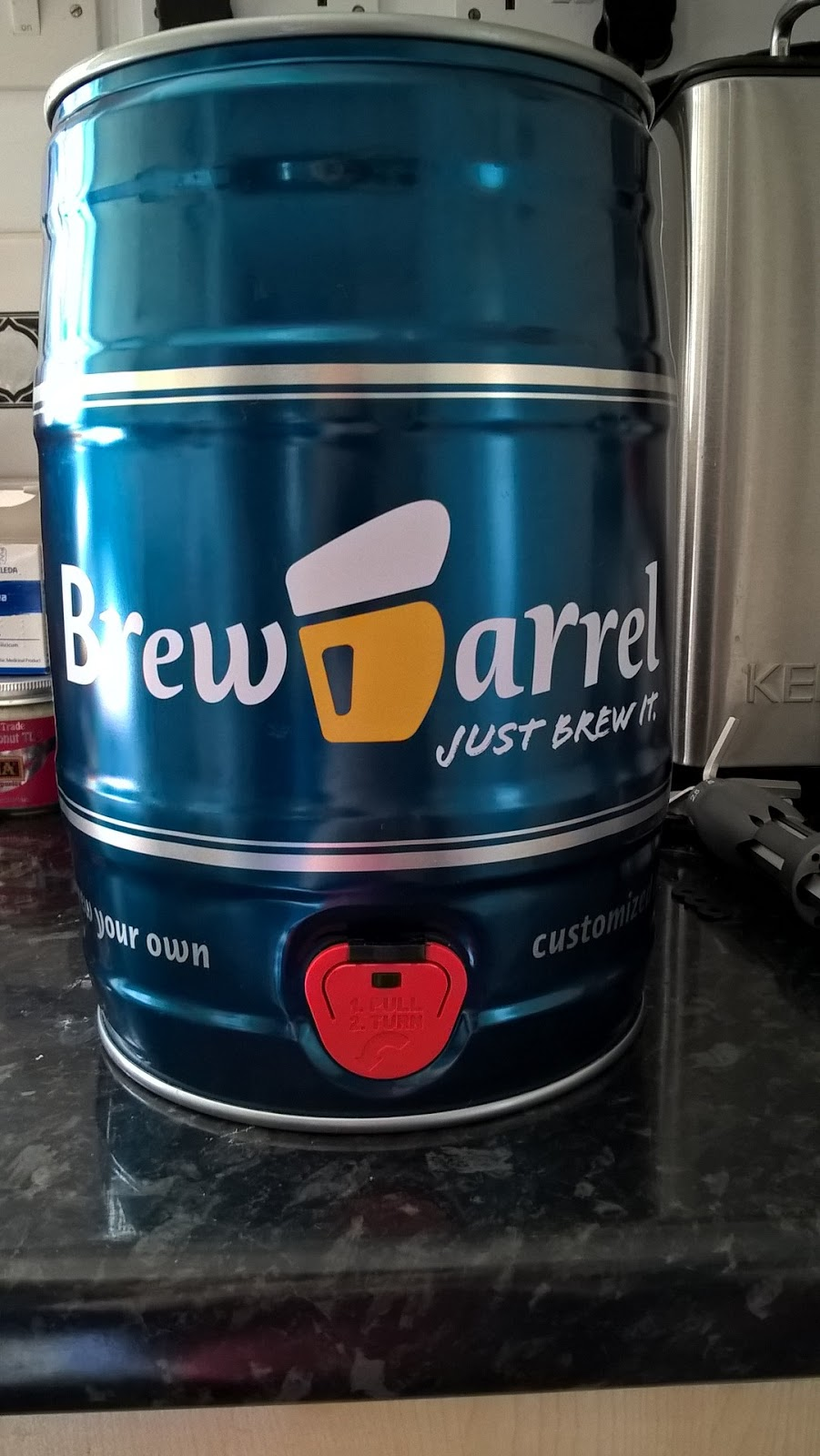 Our India Pale Ale Brewbarrel - review & giveaway - home brew - motherdistracted.co.uk