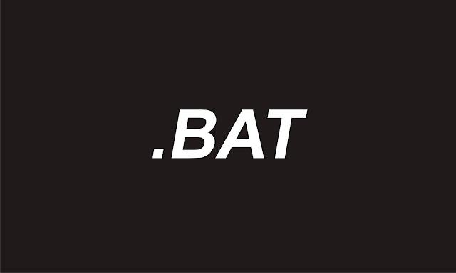 Untuk Mempermudah Dan Mempercepat Pekerjaan Cara Membuat File Batch (BAT) Untuk Mempermudah Dan Mempercepat Pekerjaan