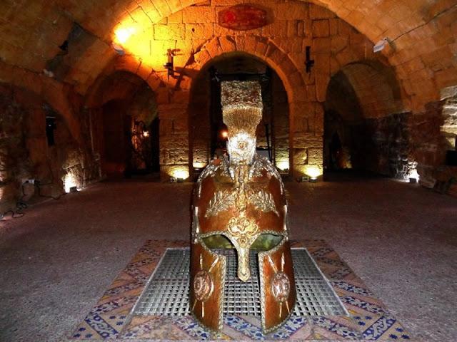 Peça exposta no Museo Spartano di Taranto