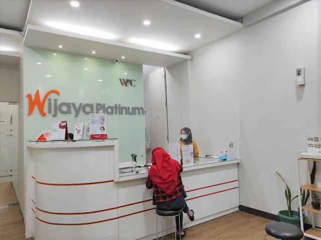 Peeling di Wijaya Platinum Cibinong, Gimana Hasilnya?