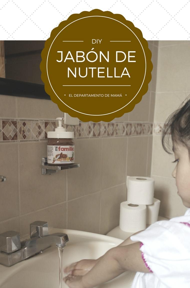 DIY: JABÓN DE NUTELLA