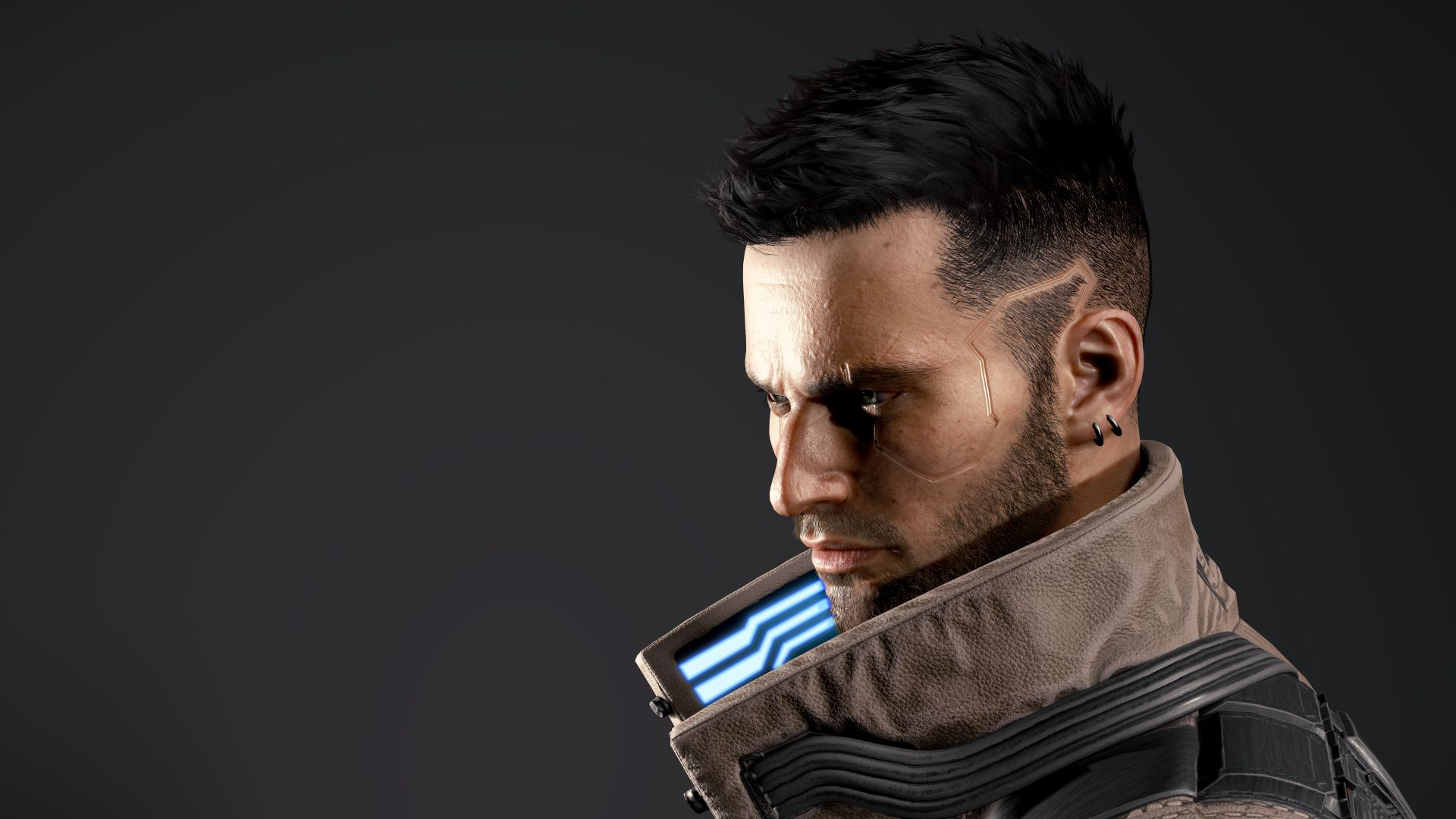 Change of appearance. A haircut. How to change hair after starting Cyberpunk 2077