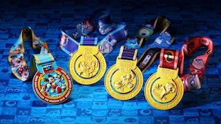 Hong Kong Disneyland 10K Weekend 2018 médailles