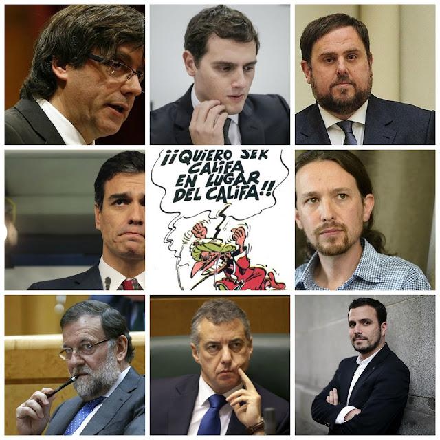 La España Ingobernable. O no.