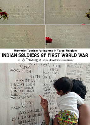 Indian Soldier of WWI in Ypres, Belgium