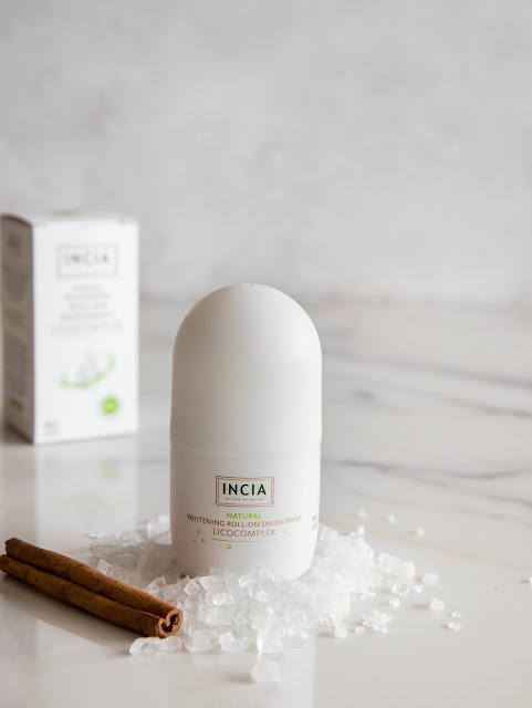 INCIA'dan Türkiye'nin İlk Doğal Beyazlatıcı Roll On Deodorantı