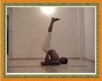 yoga a way to health viparita karanithe inverted pose