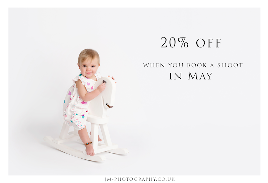 Save 20% when you book and pay in May!!!