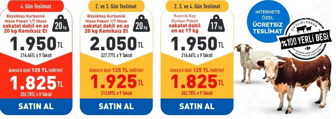 carrefoursa market kurban kesimi fiyatları online sipariş