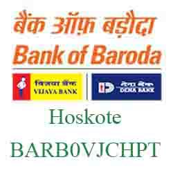 Vijaya Baroda Bank Hoskote Branch New IFSC, MICR