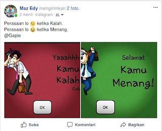 postingan instagram share otomatis ke facebook