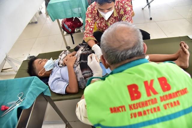 Rumah Sakit Bergerak Layani Masyarakat Sumut di Berbagai Wilayah