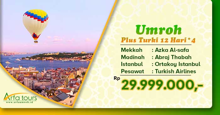 umroh november plus turki bintang 5