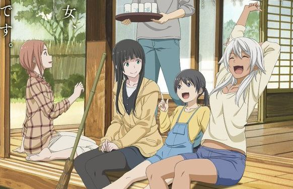 Flying%2BWitch 15 Anime Terbaik Berlatar Pedesaan