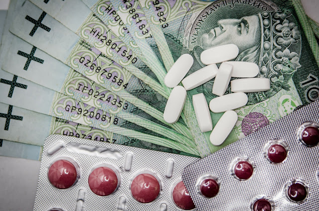 botulism, money, medication, tablets, dollars