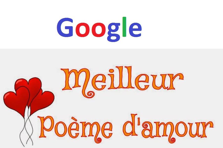 Google Poeme Damour Mot Damour