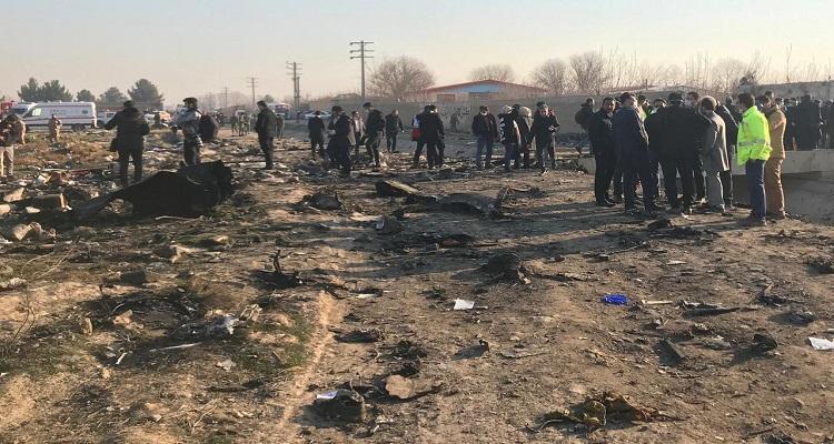 تحطم طائرة ركاب أوكرانية في طهران ومقتل جميع ركابها