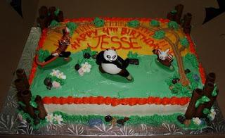 kue ultah panda