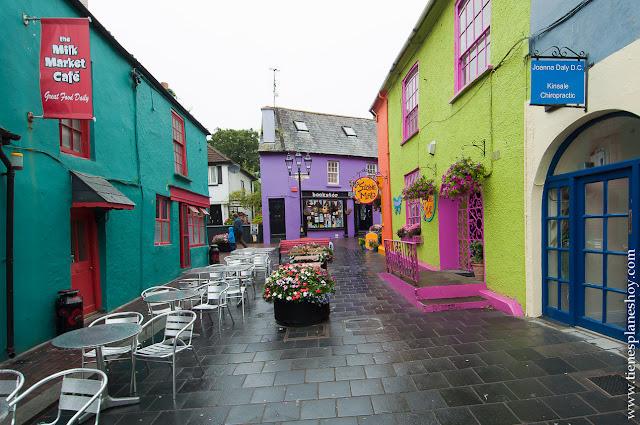 Kinsale casas colores Condado Cork Irlanda