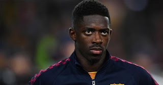 Source confirms Barcelona star Ousmane Dembele open to joining Man United after been ignored against Sevilla