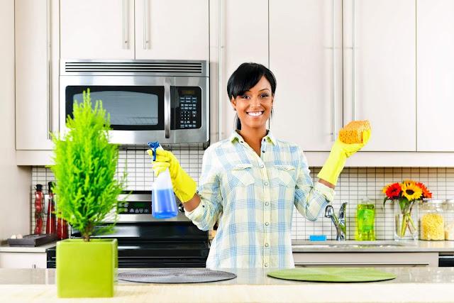 dicas de limpeza da cozinha