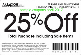 AC Moore coupons april