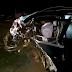 Após colisão em BR, motorista morre e fica preso às ferragens