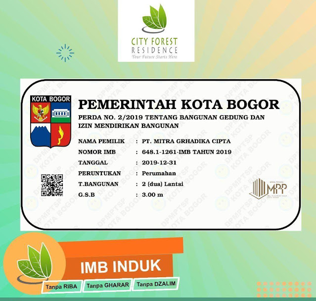 City Forest Residence Bogor
