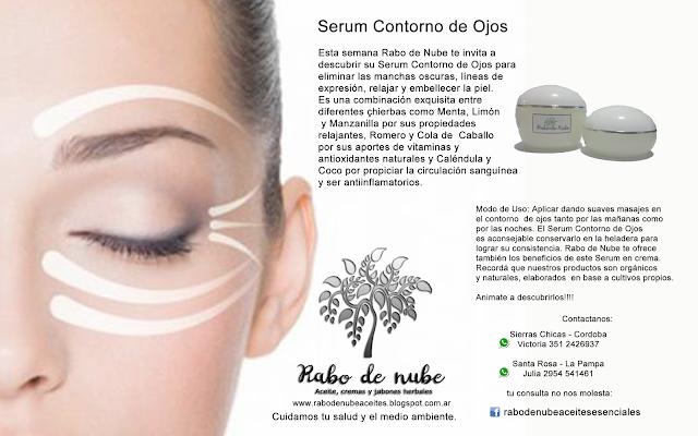 Serum Contorno de Ojos | Rabo de Nube
