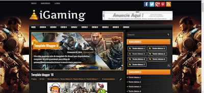iGaming Blogger Template