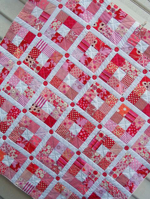 Nine-patch Quilt Free Pattern