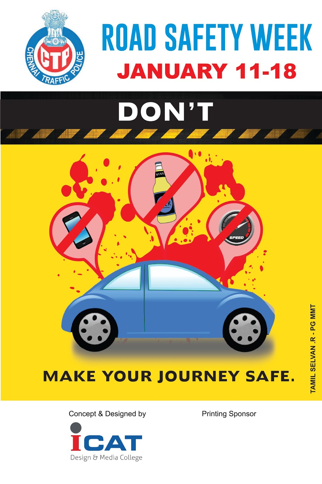 road safety awareness Saferroadsph campaign promotes road safety policies, information, and news  for road users road crash incidents are no accidents they can be prevented.