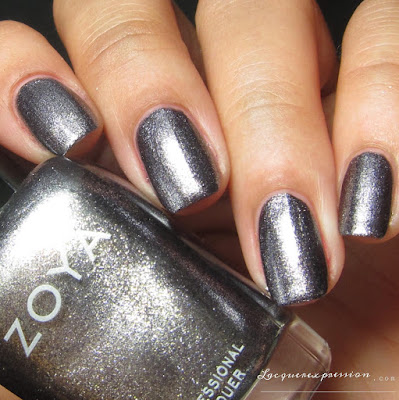 Nail polish swatch of Troy from the Fall 2016 Urban Grudge Metallic Holos collection by Zoya