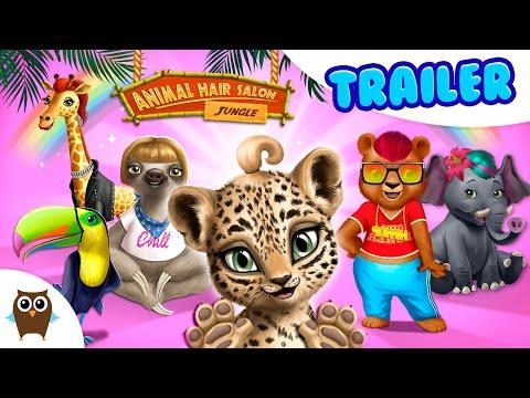 Jungle Animal Hair Salon - Wild Style Makeovers