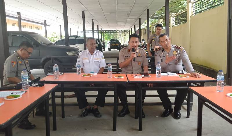 Melalui Rapat Koordinasi, Polres Madina Bangun Komitmen Zero Accident Lalu Lintas