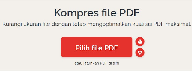 Cara Mengurangi Ukuran PDF Online