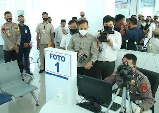 Kapolda Jabar Resmikan Gedung SATPAS Satlantas Polres Indramayu
