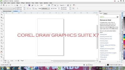 cara mudah menginstal corel draw x7
