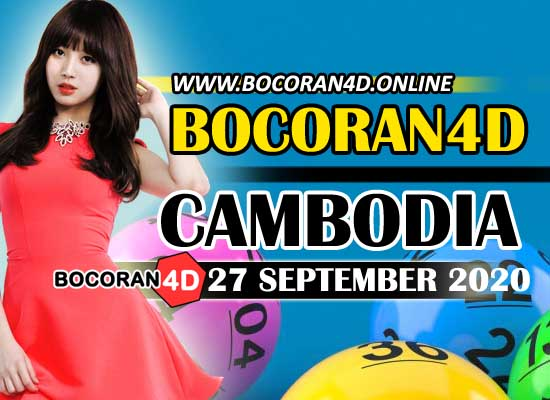 Bocoran 4D Cambodia 27 September 2020