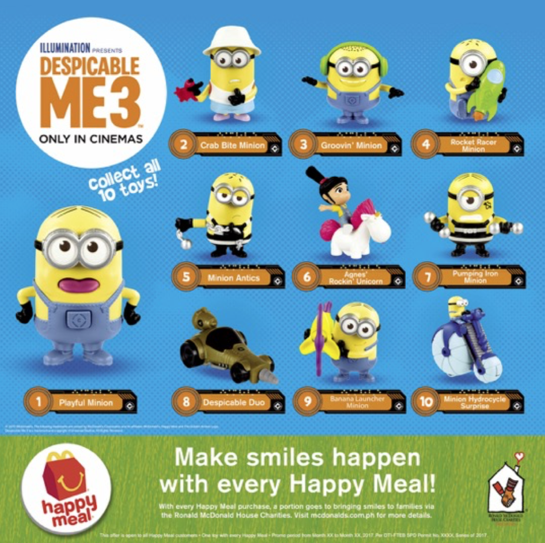 Say Hello to The New Despicable Me 3-Themed Happy Meal and ...