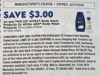 nivea coupon
