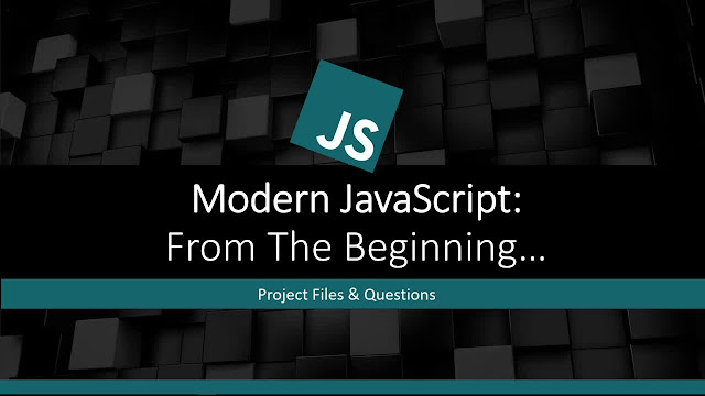 Modern JavaScript From The Beginning