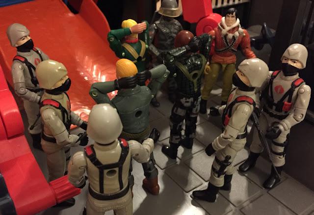 2005 Comic Pack Short Fuse, HAS Duke, Night Force Roadblock, Kwinn, 2004, 1984 Stinger Driver, Firefly, V1